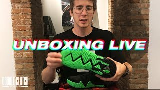UNBOXING LIVE - Kyrie 4 Halloween, Lebron, adidas