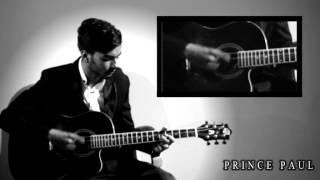 sitar on guitar .. using flamenco style by prince paul ... (AMAZING MELODY)