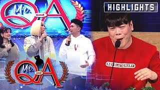 Vice pokes fun at MC's outfit | It's Showtime Mr. Q and A