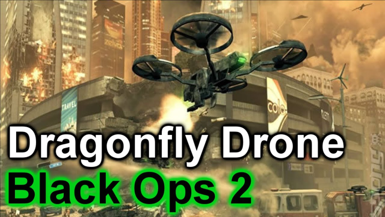 Dragonfly Drone | Machine Gun Birdy | Call of Duty: Black ...