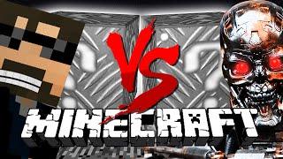 Minecraft: ROBOT BLOCK CHALLENGE | Terminator