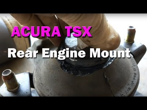 HOW TO | Acura TSX | Replace Rear Engine Mount