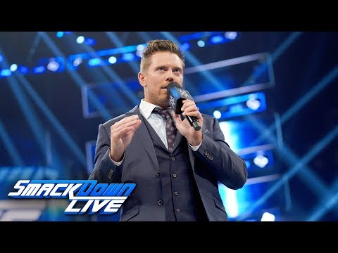 The Miz wants a stipulation added to his WrestleMania match: SmackDown LIVE, March 26, 2019