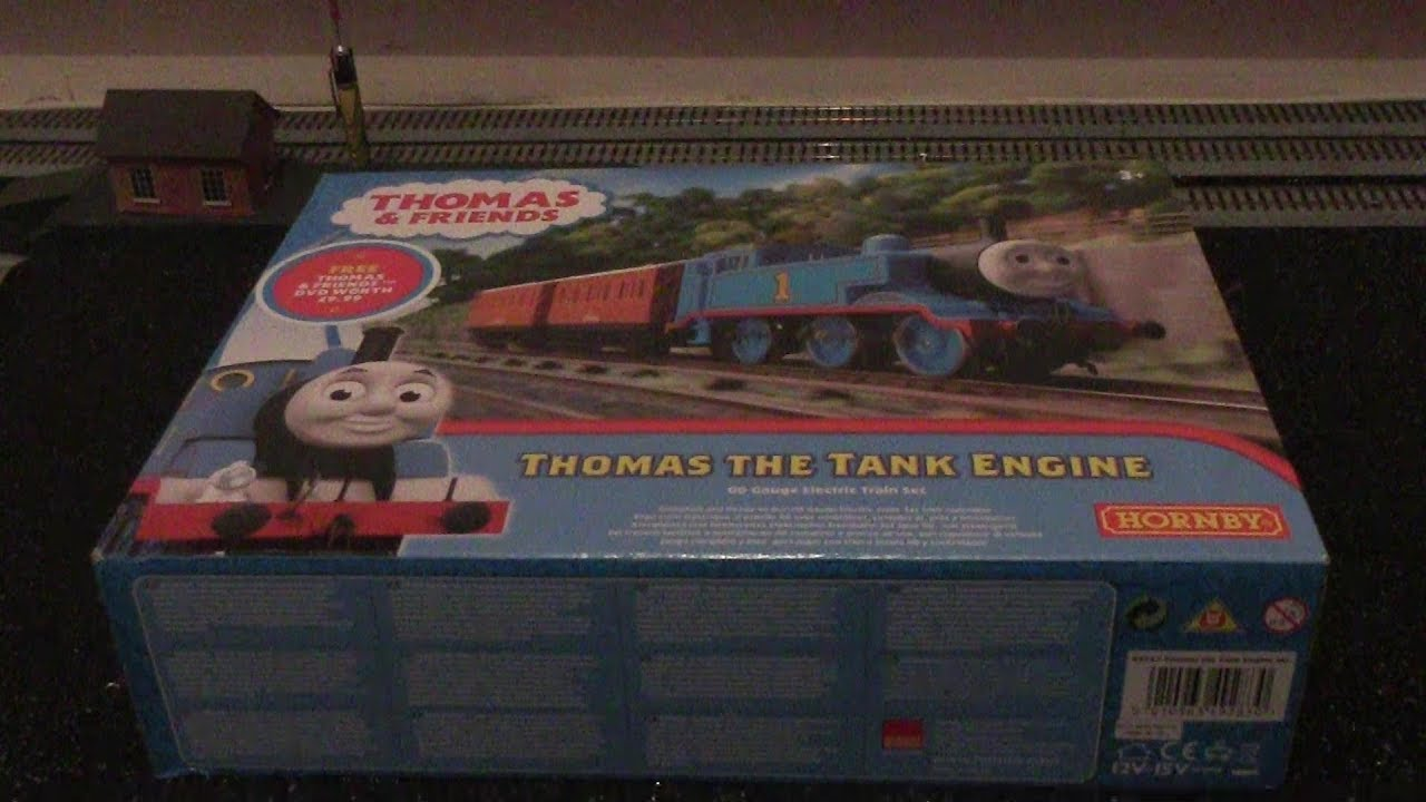653995efc11 Hornby R9283 Thomas   Friends Train Set Review   Unboxing HD - YouTube