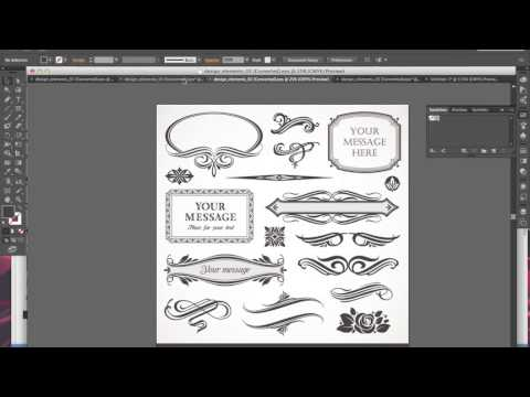 Create your own vintage patterns in illustrator