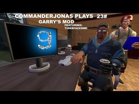 CommanderJonas Plays 23# Garry's Mod, featuring TigerFaceSwe