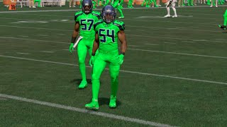 Madden 17 All NFL Color Rush Uniforms on Players