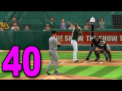 MLB 17 Pitch to the Show - Part 40 - Playing the Oakland A's
