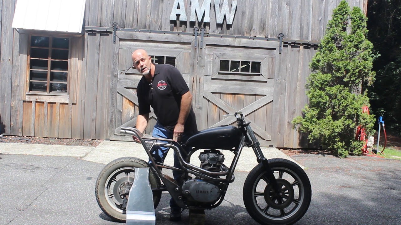 Atlanta Motorcycle Works - Third update on our 1979 Yamaha XS650 scrambler  build  Video #4