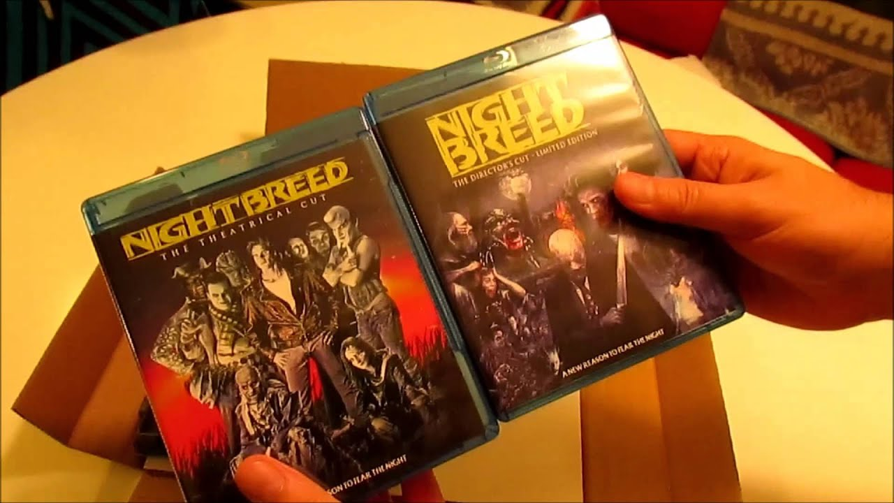 nightbreed quotdirectors cutquot unboxing youtube
