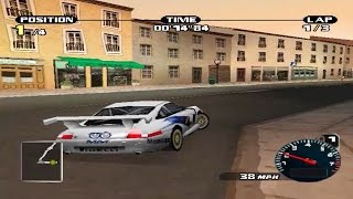 Need for Speed Porsche Unleashed (PS1 Gameplay)