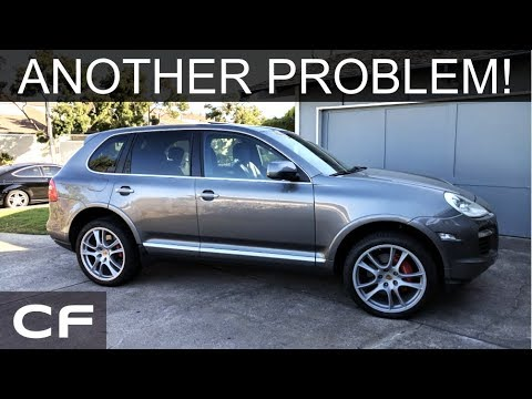Another Problem With My Porsche Cayenne Turbo Vacuum Leak P2404 P0455