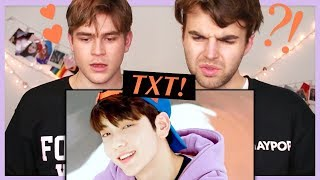 Reacting to TXT for the FIRST TIME! (BTS is so proud...)