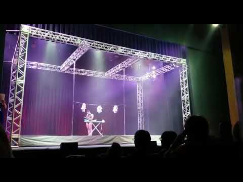 Aero dance show 2018 Paula Quintino 2° lugar Pole Art profissional