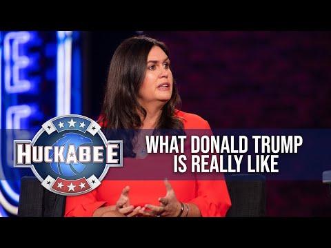 Sarah Huckabee Sanders SPEAKS OUT About President Trump | Huckabee