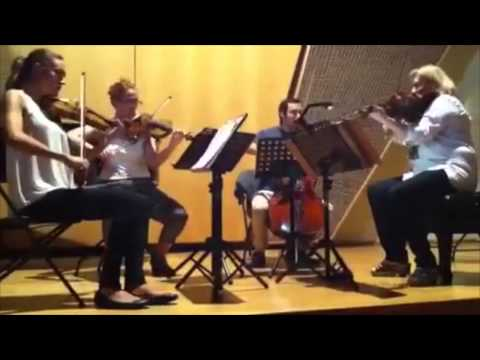 Chamber Music Society México- Pialli Quartet Rehearsal