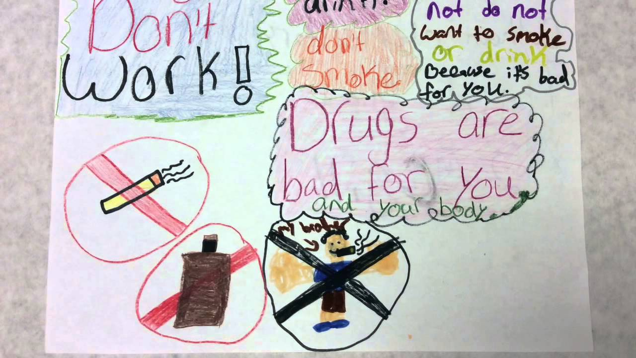 2014 Drugs Don't Work Posters - YouTube
