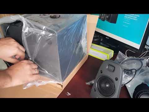 Logitech Z625 THX speaker unboxing and review