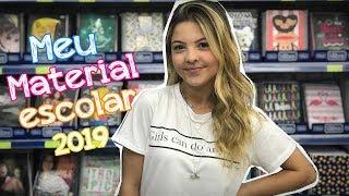 MEU MATERIAL ESCOLAR 2019 - JÚLIA GOMES