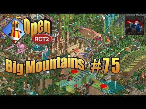 Let's Play OpenRCT2 (Big Mountains) - Ep 75: INVERTED INCEPTION