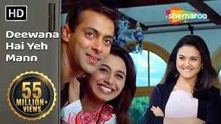 Deewana Hai Ye Mann | Chori Chori Chupke Chupke(2001) Song | Salman Khan | Rani Mukherjee | Romantic