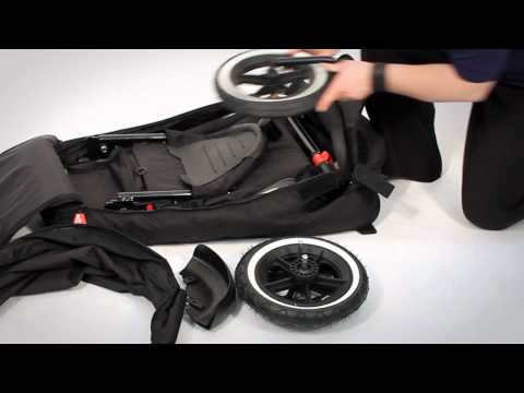 How to pack a phil&teds buggy into its Travelbag
