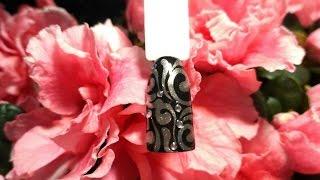 Втирка.  Весенний дизайн ногтей. Идея весеннего маникюра 2017