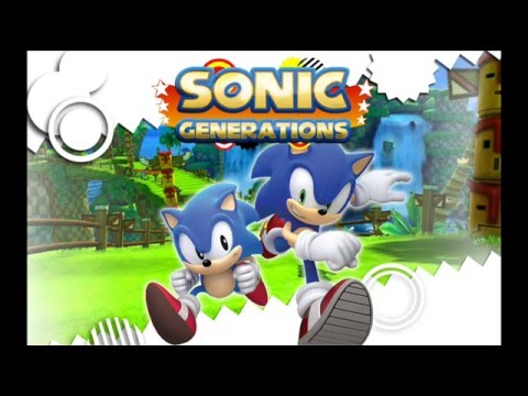 sonic generations modern city escape music youtube