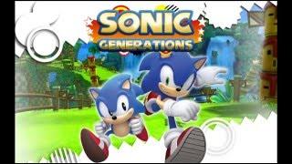 "Sonic Generations ""Modern City Escape"" Music"