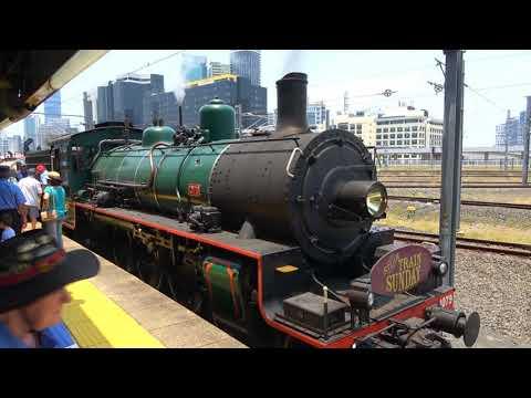 BB18 ¼ 1079 - Steam Train Sunday - Sherwood Loop - 2/12/2018