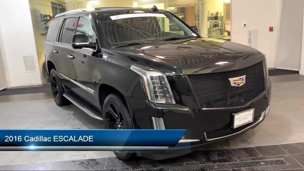 2016 Cadillac ESCALADE 4WD 4dr Luxury Collection ...