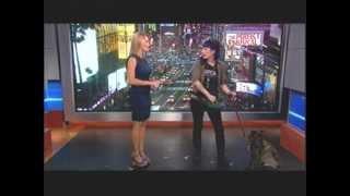Katy Tur 7/19/12 BEST BODY IN NEW YORK NEWS - Legs, Butt, Rack, Heels Video