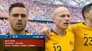 Anthem Of Australia Vs Peru FIFA World Cup 2018