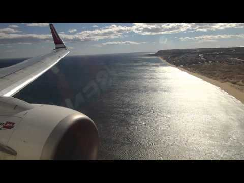 Welcome To Sunny Alicante! Windy Approach, Landing and Taxi On Norwegian Air Shuttle B737-800