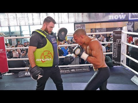 Chris Eubank Jr PUBLIC WORKOUT | FULL VIDEO | vs George Groves | World Super Series Semi Final
