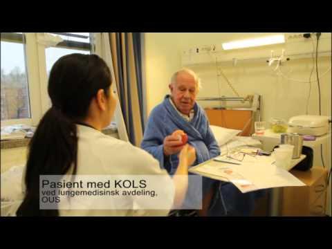 Pasienter med KOLS og bruk av medisiner