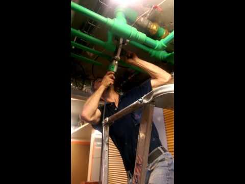 PPR GREEN Pipe AQUATHERM Socket Welding