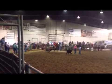 Aften Peterson 2014 Rocksprings high school rodeo