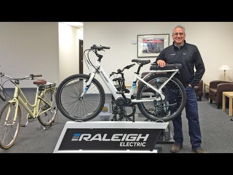 Raleigh Electric Bikes Deep Dive with President Larry Pizzi