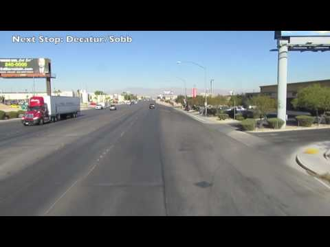 Ride RTC Southern Nevada route 103 (Enviro500)