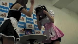 でんでんとはっちーこと、清水楓ちゃんと蜂須賀ゆきこちゃんがニュース...
