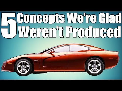 5 Concept Cars We're Glad Weren't Produced!