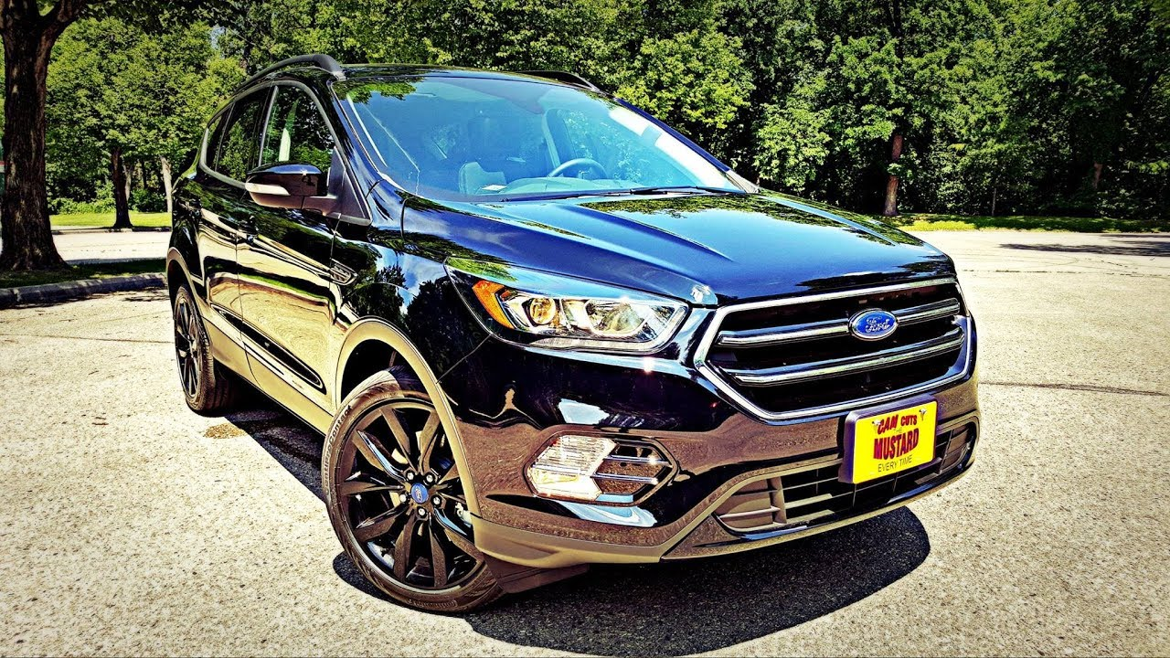 Ford Escape Titanium >> 2017 Ford Escape Titanium Review Youtube
