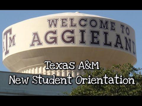 Texas A&M New Student Orentation #GIG'EM | VLOG