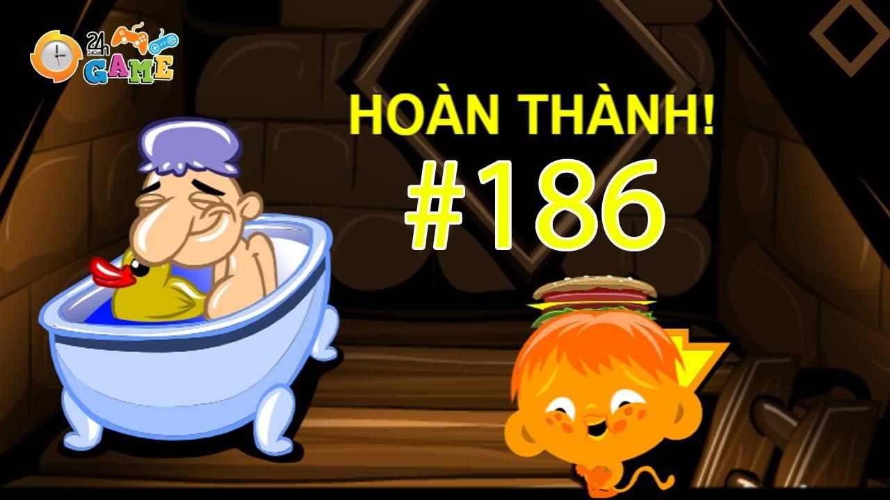 Chú Khỉ Buồn 186 - Hướng Dẫn Cách Chơi Game Chú Khỉ Buồn 186