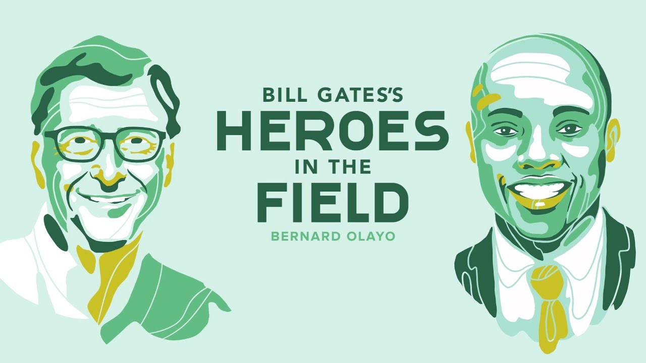 Bill Gates's Heroes in the Field – Dr. Bernard Olayo