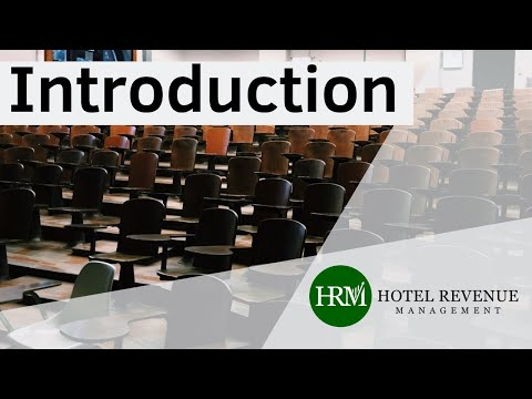 Hotel Revenue Management Introduction