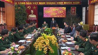 Đồng chí Võ Văn Thưởng thăm và chúc Tết Cục Tuyên huấn, Tổng cục Chính trị QĐND Việt Nam