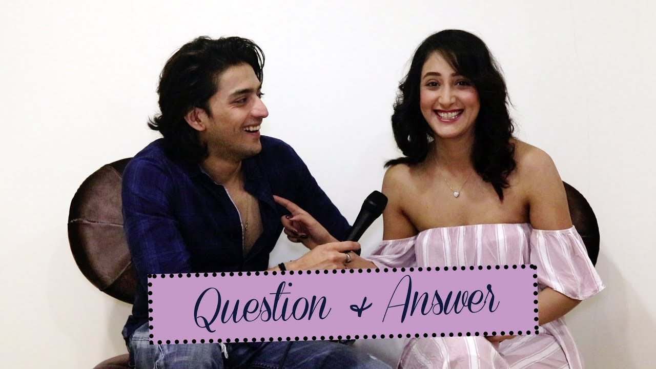 Download Kinshuk Vaidya & Shivya Pathania Answer Fans's questions   Exclusive Q&A