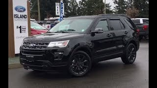 2018 Ford Explorer XLT Safe and Smart Trailer Tow AWD Review| Island Ford